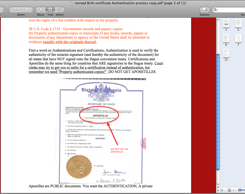 Birth Certificate Authentication Process Step By Step Products And
